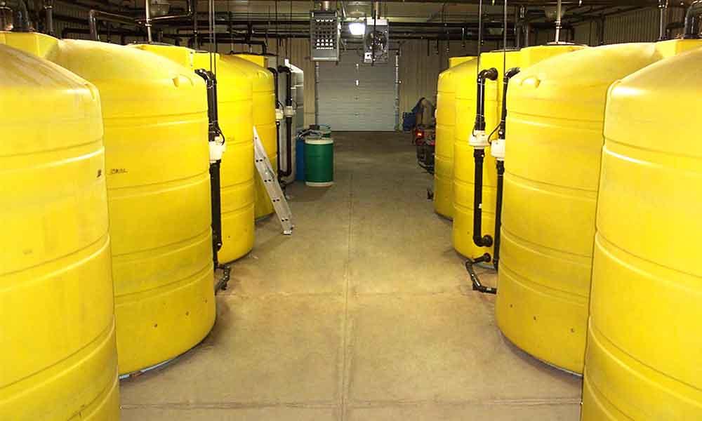 PE-5 Commercial Polyethylene Tank Biofilters