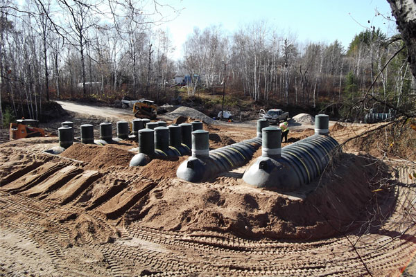 Commercial Bulk-filled Biofilters