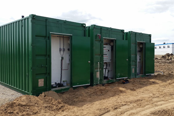SC-20 & SC-40 Commercial Shipping Container Biofilters