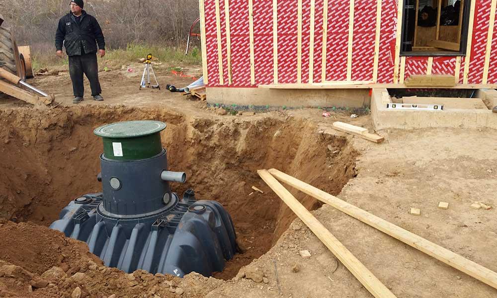 Waterloo Biofilter Irrigation System Using Rainwater